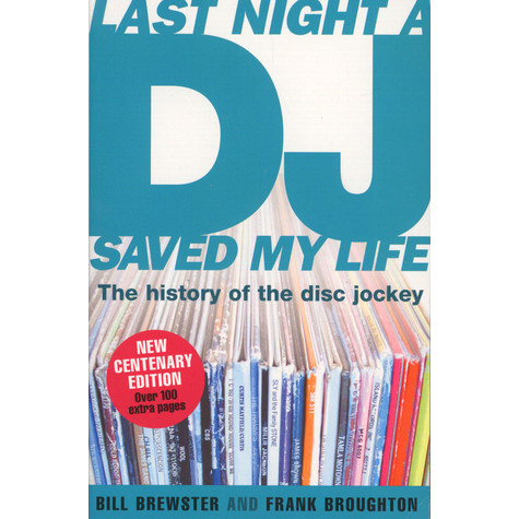 Bill Brewster - Last Night A DJ Saved My Life