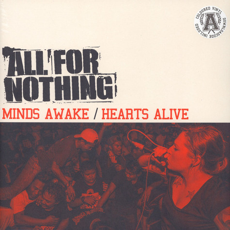 All For Nothing - Minds Awake / Hearts Alive White Vinyl Edition