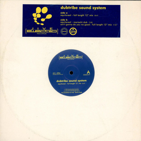 Dubtribe Sound System - Equitoreal