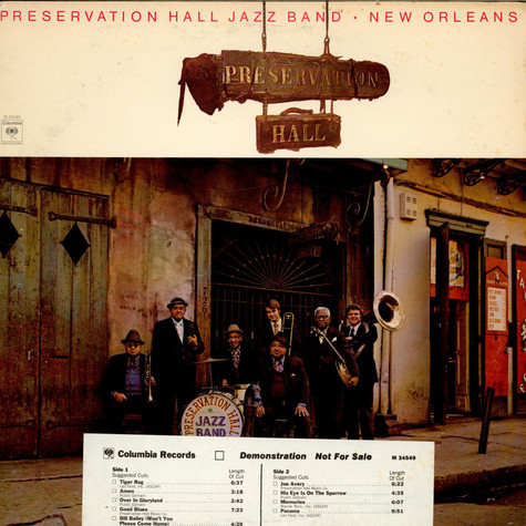 Preservation Hall Jazz Band - New Orleans, Vol. 1