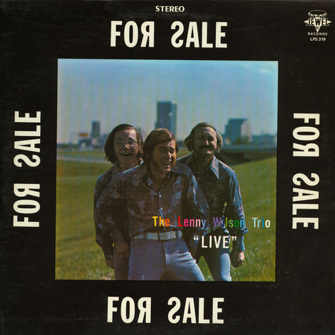 """Lenny Wilson Trio, The - For Sale """"Live"""""""