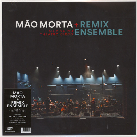 Mao Morta + Remix Ensemble - Live At Theatro Circo 3Lp