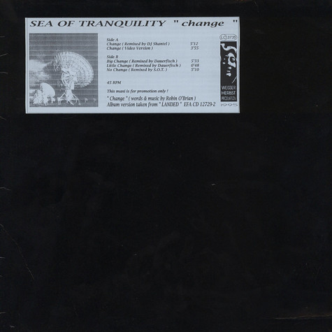 Sea Of Tranquility - Change