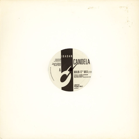 Jerome Sydenham And Kerri Chandler - Candela