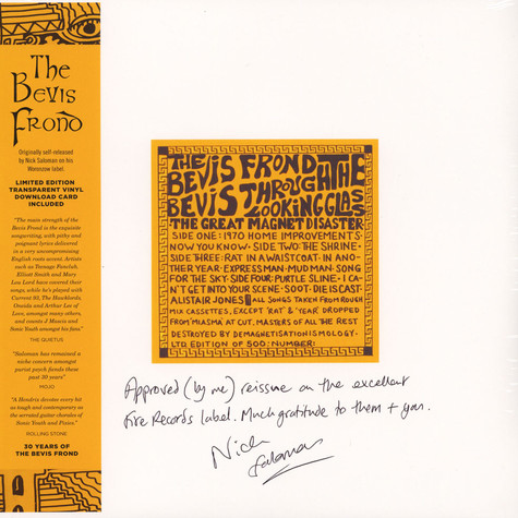 Bevis Frond - Bevis Through The Looking Glass