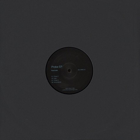 Pavel Iudin - Probe EP