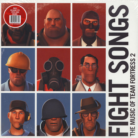 Valve Studio Orchestra - Fight Songs: The Music Of Team Fortress 2 Red Vinyl Edition