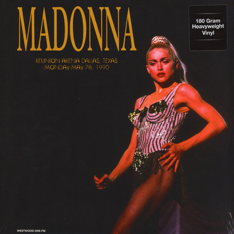 Madonna - Live in Dallas, May 7th 1990