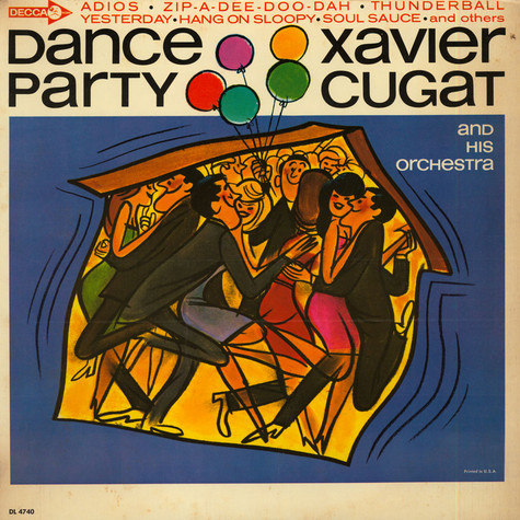 Xavier Cugat And His Orchestra - Dance Party