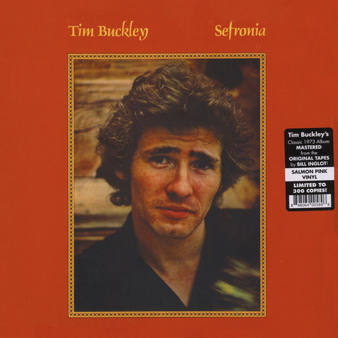 Tim Buckley - Sefronia Salmon Pink Vinyl Edition