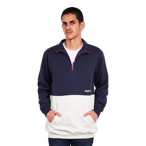 Cleptomanicx - 91 Zip-Up Sweater