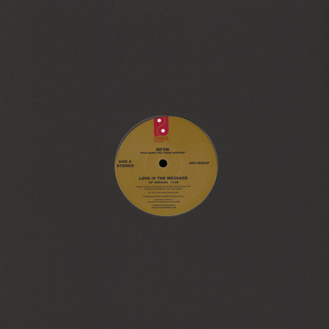 MFSB - Love Is the Message Feat. Three Degrees