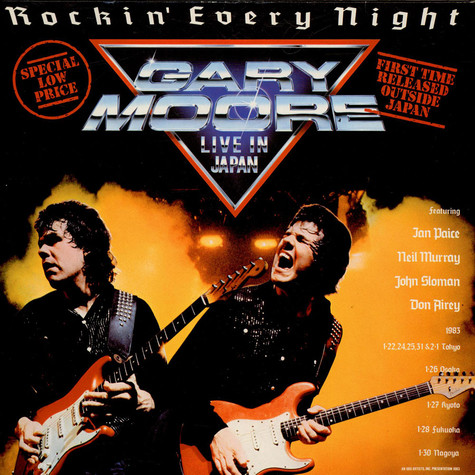 Gary Moore - Rockin' Every Night - Live In Japan