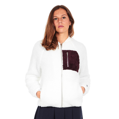 4ab82505e403 Champion Reverse Weave x Wood Wood - Suze Bomber Jacket (Off White ...