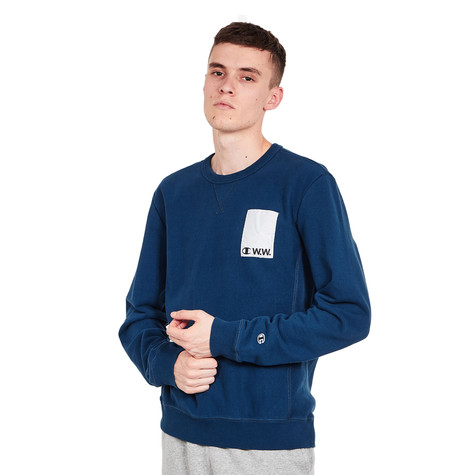Champion x Wood Wood - Crewneck Sweatshirt