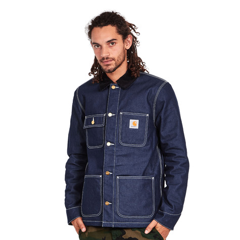 "Carhartt WIP - Michigan Chore Coat ""Norco"" Blue Denim, 11.25 oz"