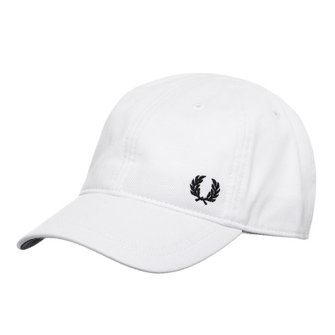 d4b819ad548 Fred Perry - Pique Classic Cap (White)