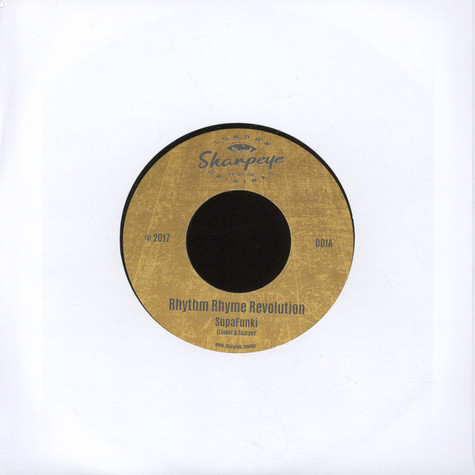 Rhythm Rhyme Revolution - Superfunki / Version