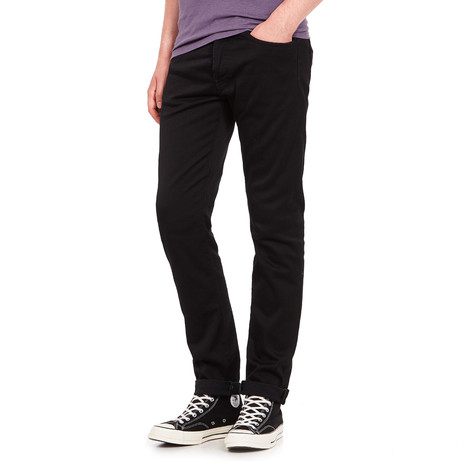 Edwin - ED-80 Slim Tapered Pants CS Ink Black Denim, 11 oz