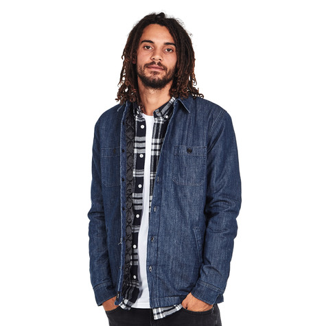 Edwin - Labour 4 Pockets Shirt Carbon Light Denim, 8 oz