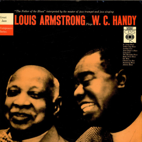 Louis Armstrong - Louis Armstrong Plays W. C. Handy ...