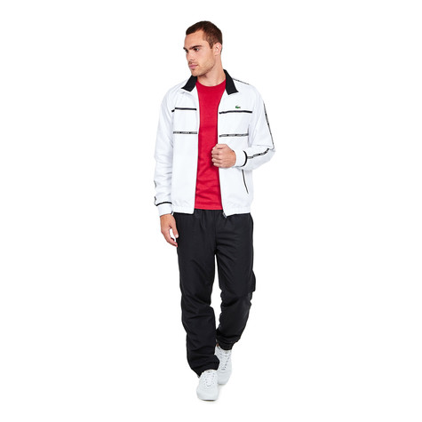 Lacoste - Diamond Weave Double Stripe Track Suit