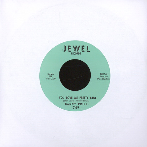 Banny Price - You Love Me Pretty Baby / You Know I love You