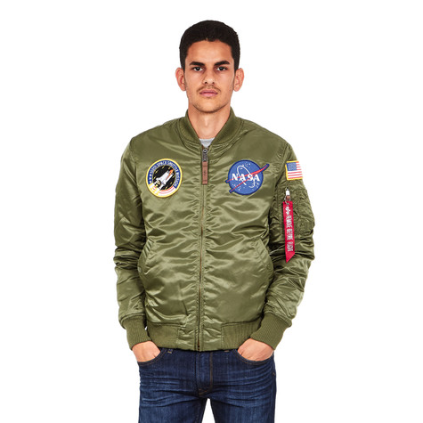 Alpha Industries - MA-1 VF NASA (Sage Green)  2807acf6f95