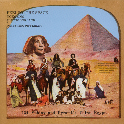 Yoko Ono - Feeling The Space Colored Vinyl Edition