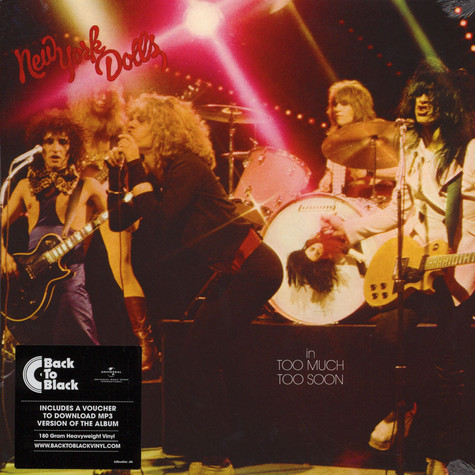 New York Dolls - Too Much Too Soon