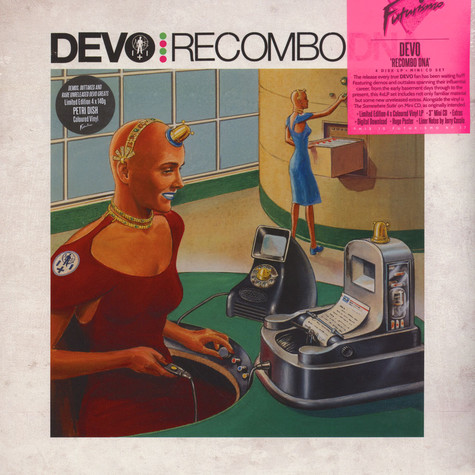 Devo - Recombo DANN / Petri Dish  Colored Vinyl Edition