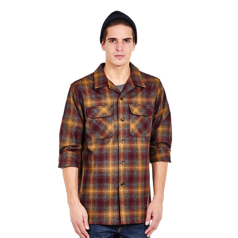 Pendleton - L/S Fitted Board Shirt