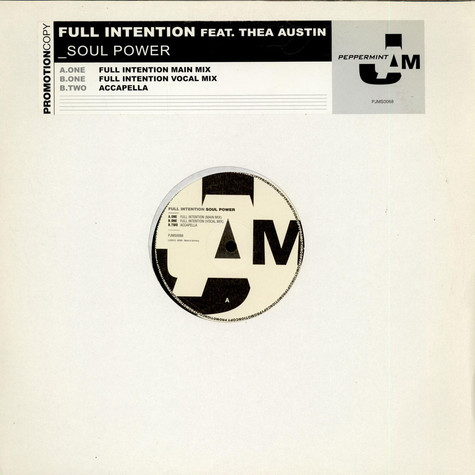 Full Intention - Soul Power Feat. Thea Austin