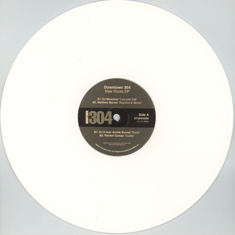 V.A. - New Roots EP White Vinyl Edition