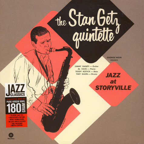 Stan Getz Quintet - Jazz At Storyville