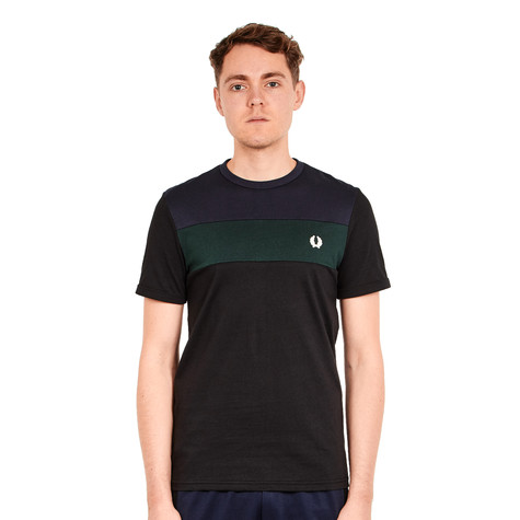 Fred Perry - Colour Block Panel T-Shirt