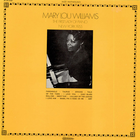 Mary Lou Williams - The First Lady Of Piano (New-York 1955)