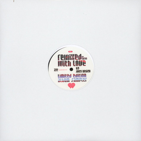 Joey Negro presents Remixed With Love - You Know How To Love Me / Bad Mouthin'