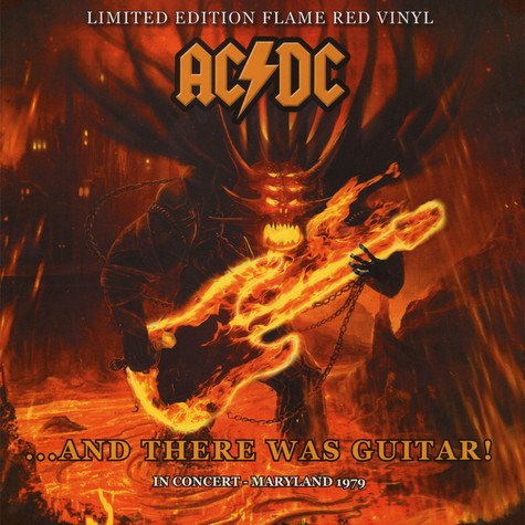 AC/DC - And There Was Guitar! In Concert - Maryland 1979 - Red Vinyl Edition