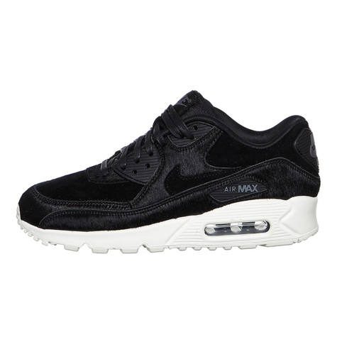 the best attitude b309e 97519 Nike. WMNS Air Max 90 LX (Black   Black   Dark Grey   Sail)