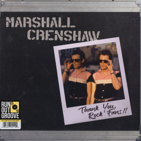 Marshall Crenshaw - Thank You Rock Fans!