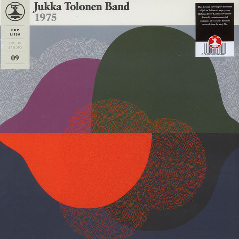 Jukka Tolonen Band 1975 - Pop-Liisa 9 Black Vinyl Edition