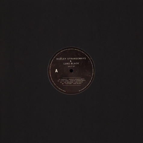 Dudley Strangeways / Luke Black - Splip EP
