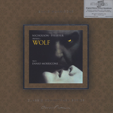 Ennio Morricone - OST Wolf Colored Vinyl Edition