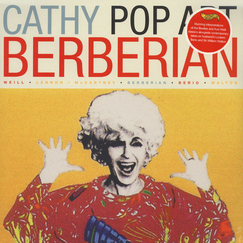 Cathy Berberian - Pop Art