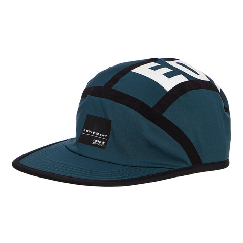 adidas - 5-Panel Cap EQT (Mystery Green   Black   White)  c178139bdc4