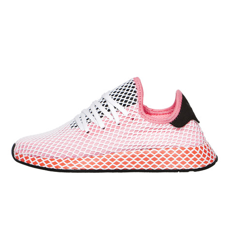 best website 66b37 cb65b adidas. Deerupt Runner W (Chalk Pink  Chalk Pink  Bold Orange)
