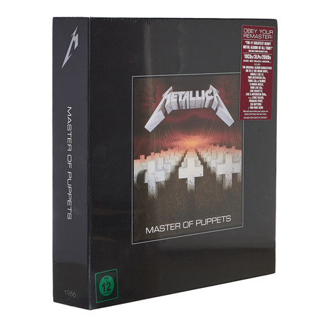 Metallica - Master Of Puppets Remastered Deluxe Edition