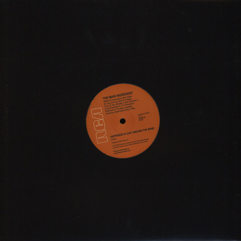 Main Ingredient, The - Happiness Is Just Around The Bend / Evening of Love