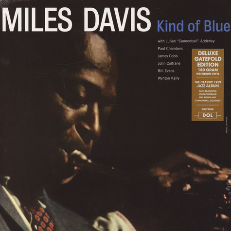 Miles Davis - Kind Of Blue Gatefold Sleeve Edition